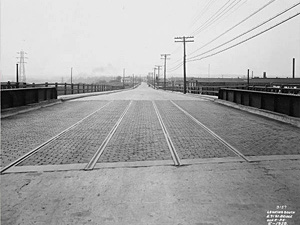 1928 View of East 71st Street Looking South